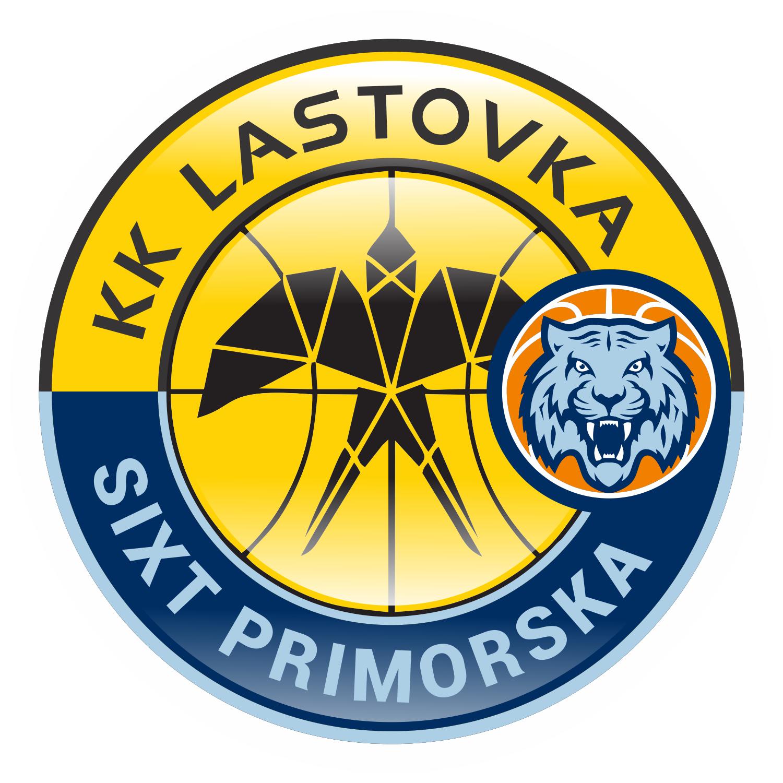 Hibridni logo Lastovka KK Primorska